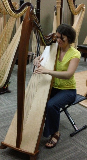 Buy A Harp >> Harp Spectrum